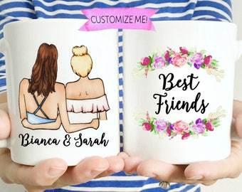 Best Friend Mugs | Best Friend Gift | Bestfriend Gifts | Gift for Best Friend | You're my Person | Gift-for-Friend Soul Sisters Best Bitches
