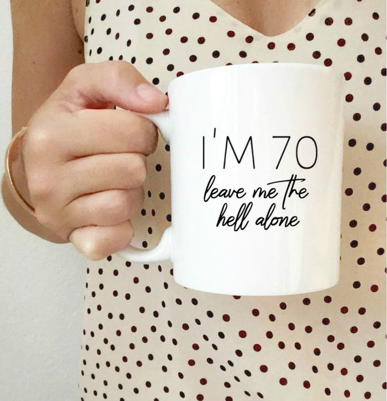 70th Birthday Gift 60th Dad Mug