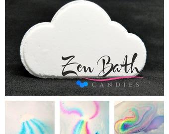 cloud rainbow bath bomb - 340×270
