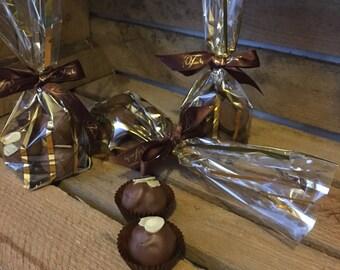 Almond Milk Truffles