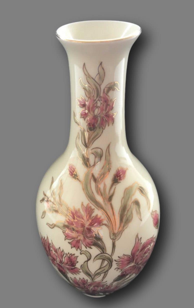 1940er jahre zsolnay ungarischen blumen vase porzellan etsy. Black Bedroom Furniture Sets. Home Design Ideas