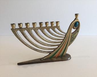 "Hanukkah Jewish Menorah ""Tamar 1969"" Limited Edition"