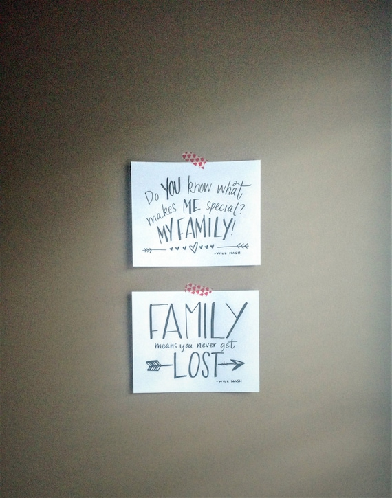 Family Quotes set DOWNLOADABLE