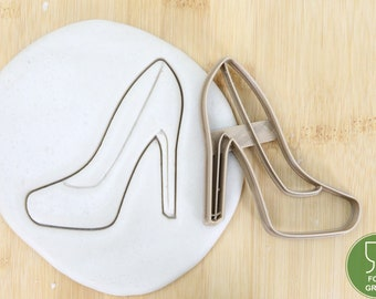 Jewelry and make-up High heels/Diamond Ring/Kiss mouth/Bag cookie cutter Cookies Cookie cutter Fondant approx.8 cm