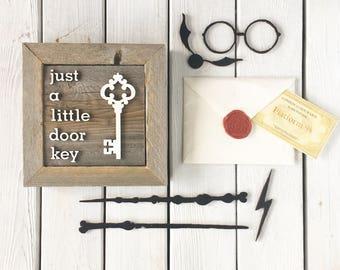 Just a Little Door Key (7X7)