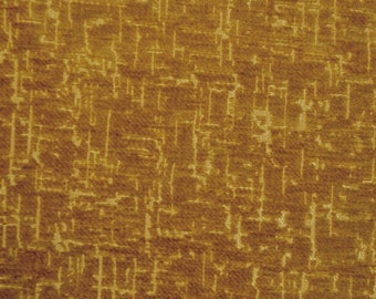 Maxwell Orange Yellow Slubbed Weave Chenille Upholstery Fabric