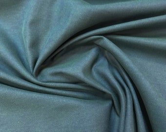 Dark Teal 100% Cotton Twill