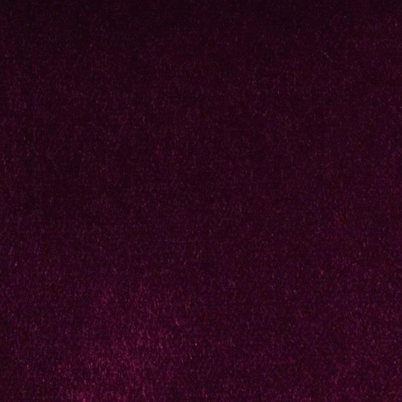 Wine Light Weight 100/% Fine Cotton Velvet Minimum 2 Yards