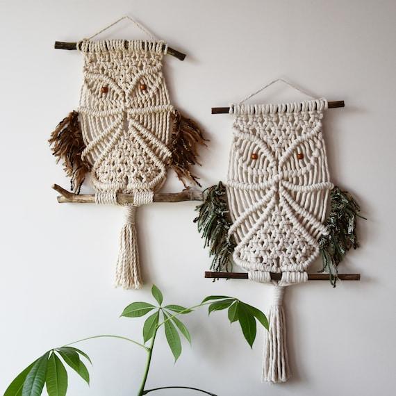 Macrame Pattern Owl Etsy