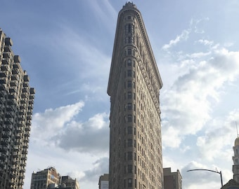 Print of Flatiron Building in New York City