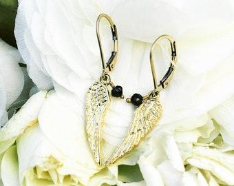 Guardian Angel Wing Earrings