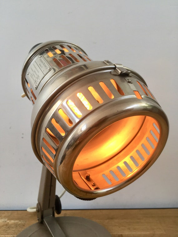 Lampe de bureau industrielle vintage