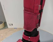 Deadpool shin guard and boot armor completed set