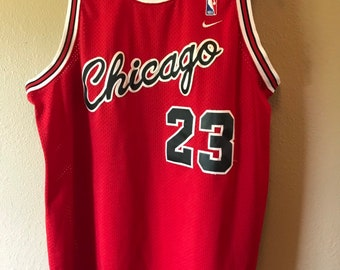e9f50cc7629 Vintage Nike Michael Jordan Chicago Bulls Flight Jersey All sewn. Sz XL  Length +2. 1984 8403