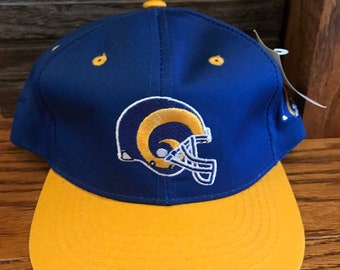 b7197a39 Vtg. 90's St Louis/Los Angeles Rams Snapback Hat. Deadstock. Youth size