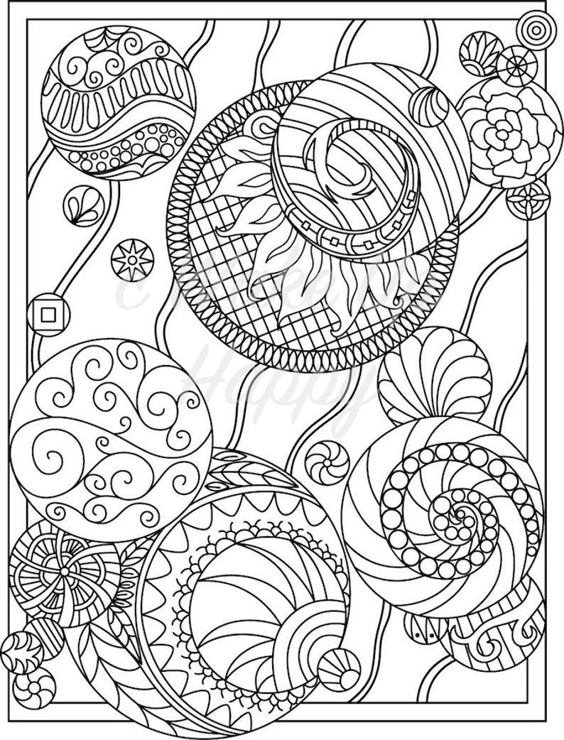 Adult Coloring Page Immediate Download  Printable  Etsy-2872