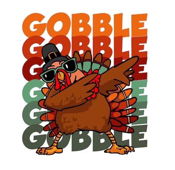 Dabbing Turkey Thanksgiving Design Jpg Png Svg And Ai Etsy