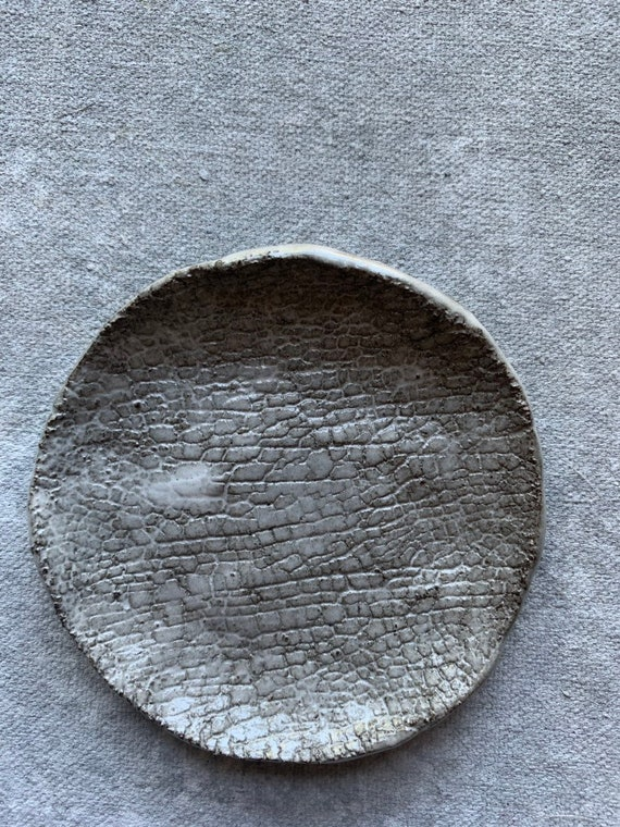 Crackled Haze Plate11 3.5""