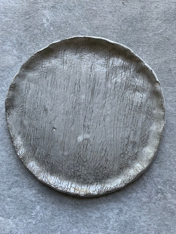 Crackled Haze Plate 3 7.5""