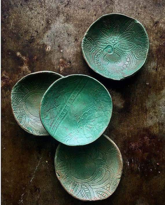 Patina Lace Bowls S