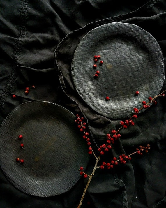 Wrought Iron Dessert Plates