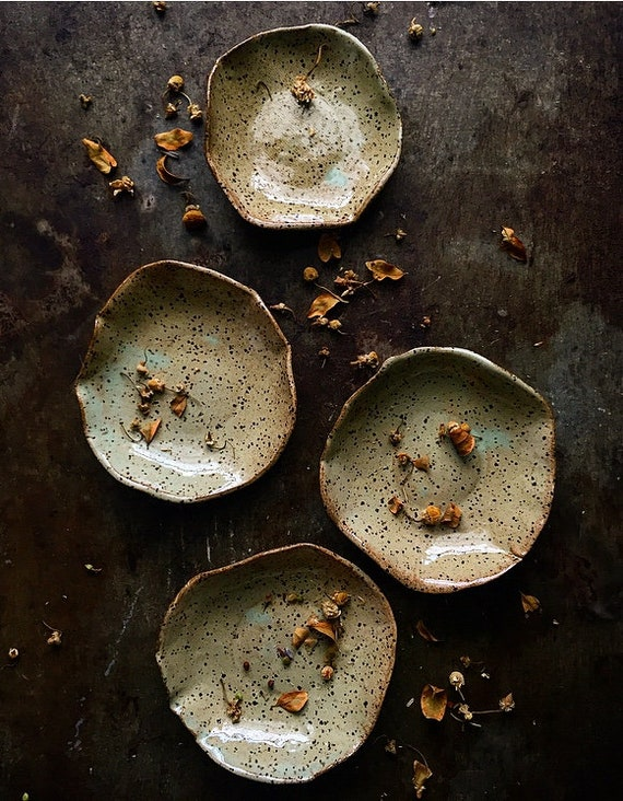 Chartreuse Speck Bowls