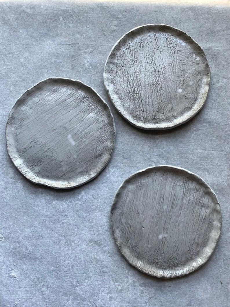 Crackled Haze 5 7.5 Plate