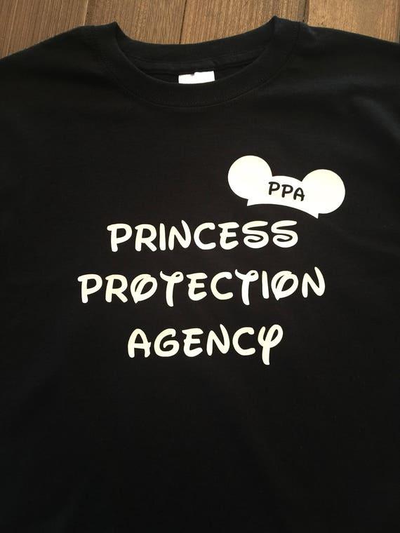 ON SALE Princess Protection Agency,Princess protection shirt,Kids shirt,Couples shirt,Disney shirt,PPA shirt,disney family,kids and couples