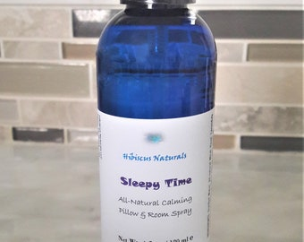 All-Natural vegan-friendly pillow and room spray scented with all-natural essential oils.