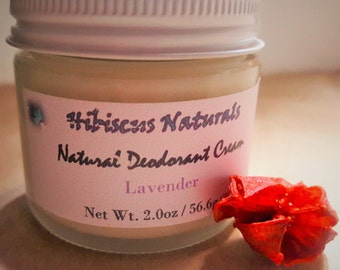 All-Natural Deodorant Cream/Paste, Aluminum Free, Paraben Free, Preservative Free, Vegan Friendly, Cruelty Free