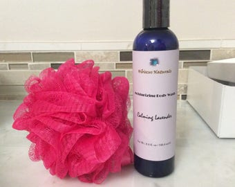 All-Natural Nourishing Body Wash scented with all-natural essential oils