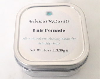 All-Natural nourishing balm for healthier hair. Free of synthetic Additives/preservatives/parabens/glycol/sulfates/phthalates/cruelty free