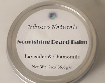 All-Natural nourishing beard balm and oil scented with all-natural essential oils/Cruelty Free