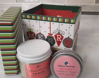 All-Natural Nourishing and Delicious Lip Butter and/or Lip Scrub