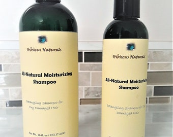 All-Natural moisturizing&detangling shampoo with pure essential oils. NO syntheticAdditives/parabens/glycol/sulfates/phthalates/cruelty free