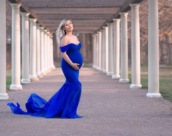 201658f57d98f Maternity Dress for Photo Shoot-Baby Shower Maternity Gown-Wedding Maternity  Dress-Long Maternity Gown-Maxi Gown-PARYS Dres