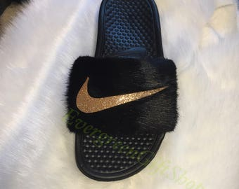 6adf474487df Nike fur slides