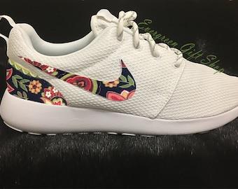 90d9e928faeff Nike Roshe Run Floral Custom Roshes FLORAL 1