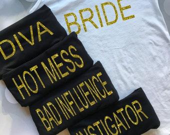 Bachelorette Party Tanks, Bachelorette Party Shirts, Bachelorette Shirts, Unique Bachelorette Shirts, Unique Bachelorette Tanks, Bride Shirt