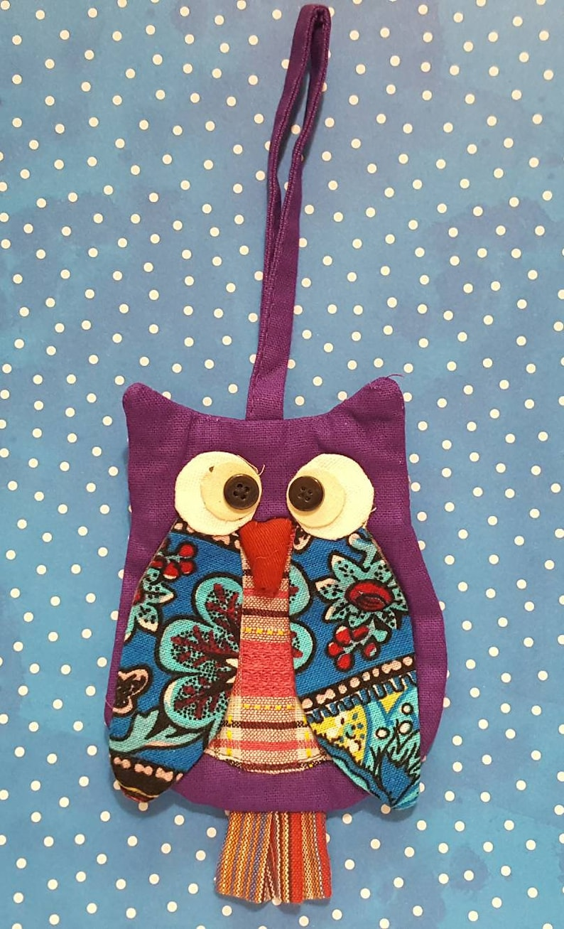 school pouch fabric owl pouches colorful owl coin purses Handmade owl coin purse hoot pouch for your loot backpack with strap