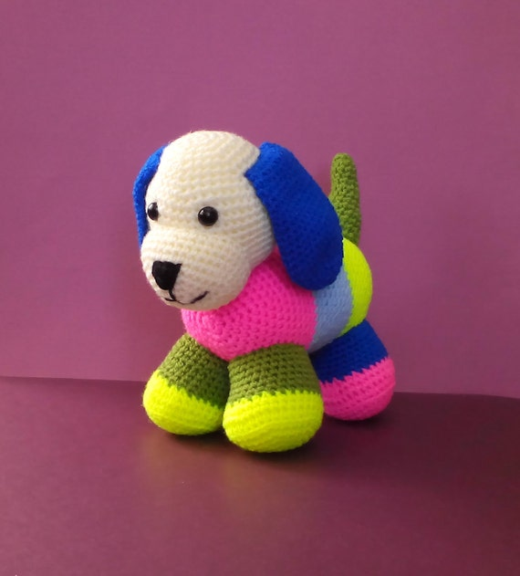 Lustiger Hundespielzeug Kuscheltier Hund Tier Stricken Etsy