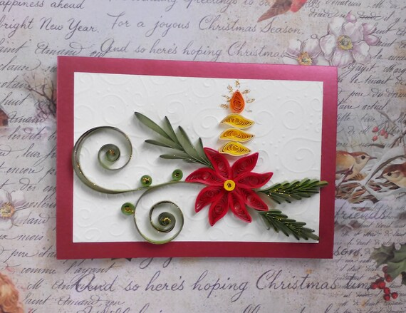 Christmas Card Images Handmade.Christmas Cards Handmade Quilling Cards Quilled Christmas Quilling Christmas Mom Christmas Card Quilling Christmas Card Quill Card