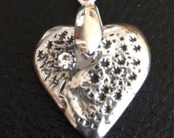 Heart Tin with Swarovski stone