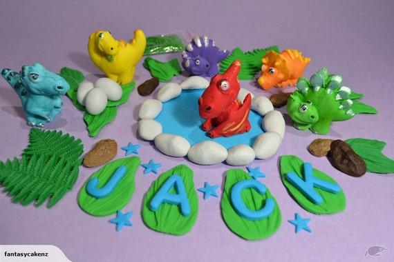 Dinosaurs Topper Dinosaur Fondant Edible Dinosaur 3d Dinosaur Cake Topper Cake Decoration Fondant Decorations Animal Fondant
