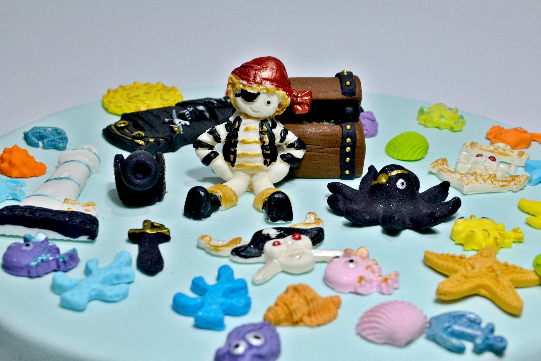 Piraten Kuchen Topper Piraten Geburtstagskuchen Piraten Etsy