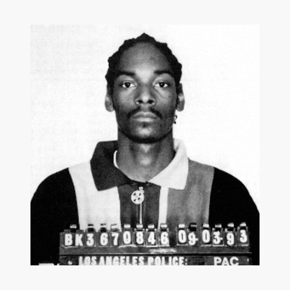 Fridge Magnet Mugshot Snoop Dogg 1993