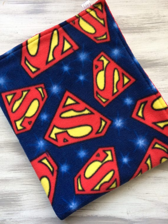 8a888074ca Superman Dog Blanket   Puppy Blanket   Personalized Dog