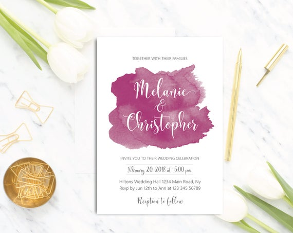 Wedding Invitation - designinvitationsbk
