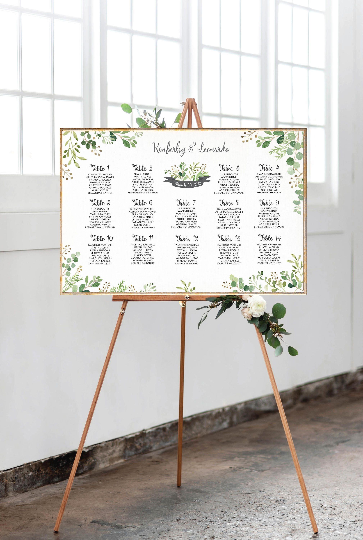 wedding seating chart wedding seating chart template wedding