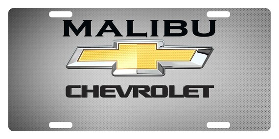Ch-evr-olet Silverado Logo License Plate Front License Sign Car Tag Decorative Metal Plate